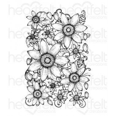 Classic Sunflower Cling Stamp Set
