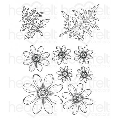 Delightful Daisy Cling Stamp Set