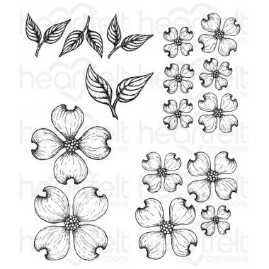 Flowering Dogwood Cling Stamp Set