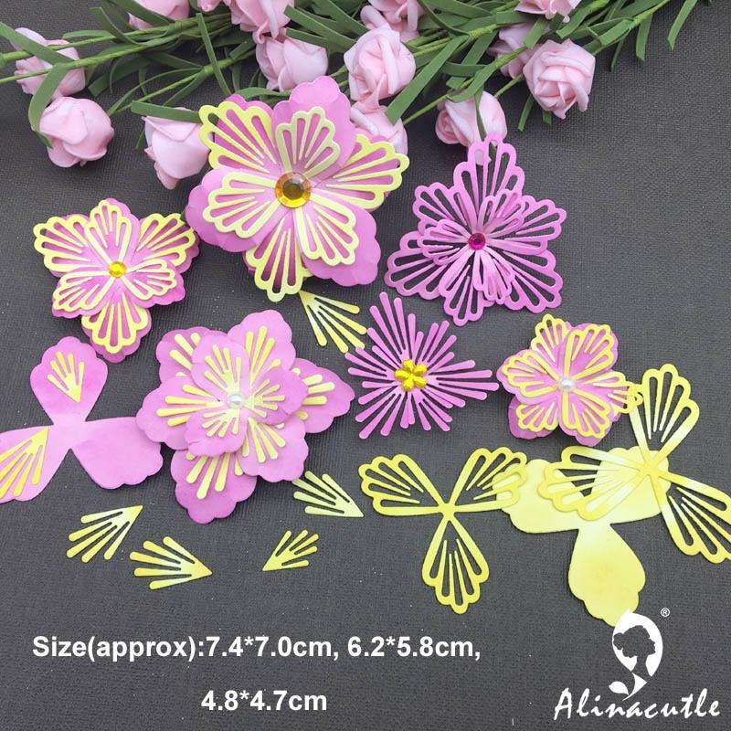 Cut Florals (Outline) Die